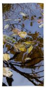 Fall In The Lake In Vienna No. 1 Beach Towel