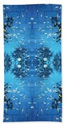 Autumn Leaves Fall Beach Towel