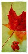 Fall Leaves Beach Towel