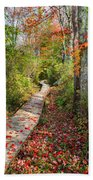Fall Morning Beach Towel by Bill Wakeley