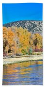 Fall On The Snake River Beach Towel