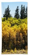 Fall Panorama Beach Towel