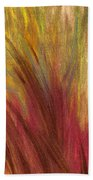 Fall Prairie Grass By Jrr Beach Towel