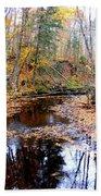 Fall River Beach Towel