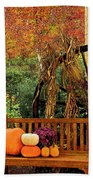 Fall Serenity Beach Towel