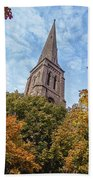 Fall Steeple Beach Towel