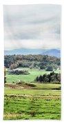 Fall Vermont Landscape Beach Towel
