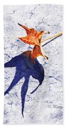 Fallen Leaf King Size Shadow Beach Towel