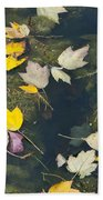 Fallen Leaves 2 Beach Towel