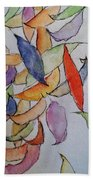 Falling Into Place Beach Towel