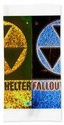 Fallout Lineup Beach Towel