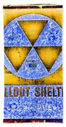 Fallout Shelter Wall 3 Beach Towel