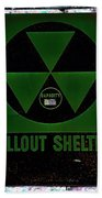 Fallout Shelter Wall 4 Beach Towel