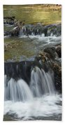 Falls Along Big Stone Lake Beach Towel