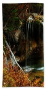 Falls At Hanging Lake Beach Towel