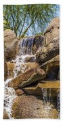 Falls At Jackalope Ranch Beach Towel