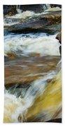 Falls Of Dochart Scotland Beach Towel