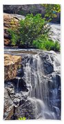 Falls Of Reedy River Beach Towel