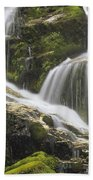 Falls On Sauk River Washington Beach Towel