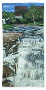 Falls River Park Beach Towel
