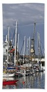 Falmouth Harbour And Docks Beach Towel