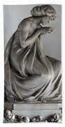 Famiglia Meretti Grave Marker Monumental Cemetery Milan Italy Beach Towel