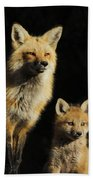 Family Portrait Beach Towel