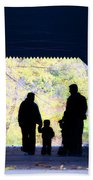 Family Time Beach Towel by Bill Cannon