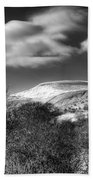 Fan Fawr Brecon Beacons 1 Mono Beach Towel