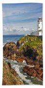 Fanad Lighthouse Donegal Ireland Beach Towel