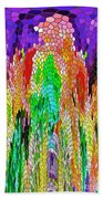 Fanciful Colors  Abstract Mosaic Beach Towel