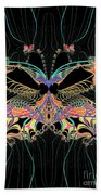 Fantasy Butterfly Beach Towel