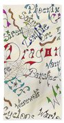 Fantasy Creatures Beach Towel