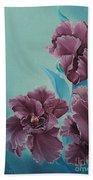 Fantasy Floral Beach Towel