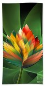 Fantasy Flower 2 Beach Towel