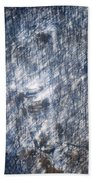 Farm In The Woods On A Hill Beach Towel