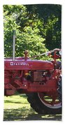 Farmall's End Of Day Beach Towel