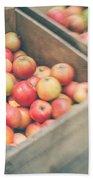 Farmers' Market Apples Beach Towel