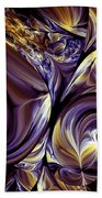 Fashion Statement Abstract Beach Towel