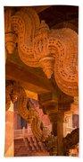 Fatehpur Sikri Detail Beach Towel