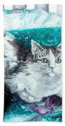 Feather Belle Beach Towel
