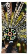 Feather Crown Beach Towel
