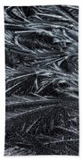 Feathered Ice Beach Towel