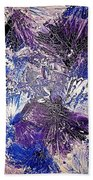 Feathers In The Wind Beach Towel