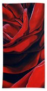 February Rose Beach Towel