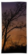 February Sunrise Beach Towel