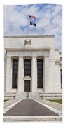 Federal Reserve Building No1 Beach Towel