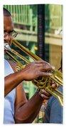 Feel It - New Orleans Jazz  Beach Towel
