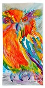 Feeling Owlright Beach Towel