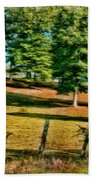 Fence - Featured In Comfortable Art Group Beach Towel